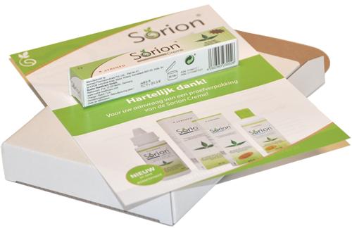 Sorion proefverpakking