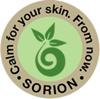 Calm for your skin. From now. Sorion.